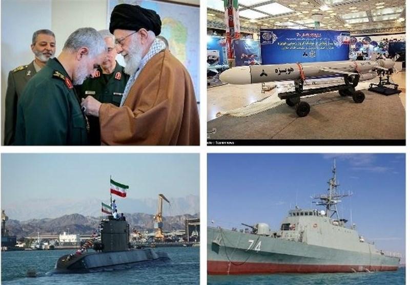 مهمترین اخبار نظامی در سال ۹۷؛ از فاتح و سهند تا «ذوالفقار» بر سینهی حاج قاسم