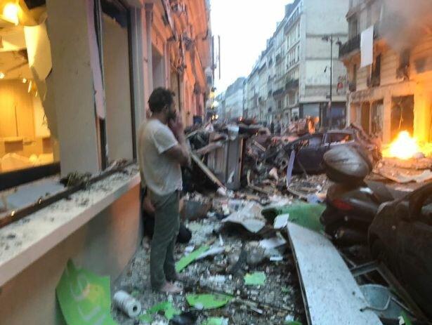 وقوع انفجاری مهیب در مرکز پاریس - 5