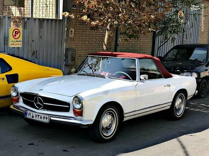 عکس/ گران قیمتترین خودرو عتیقهی آلمانی در تهران - 1