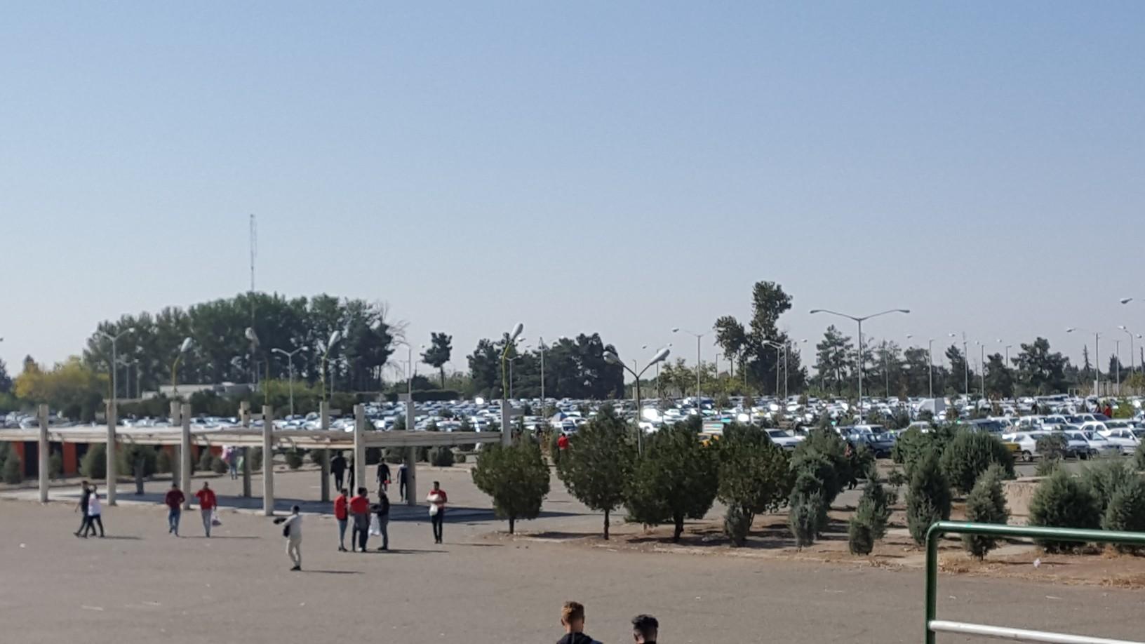 حاشیههای پیش از دیدار پرسپولیس ایران و السد قطر در ورزشگاه آزادی - 10