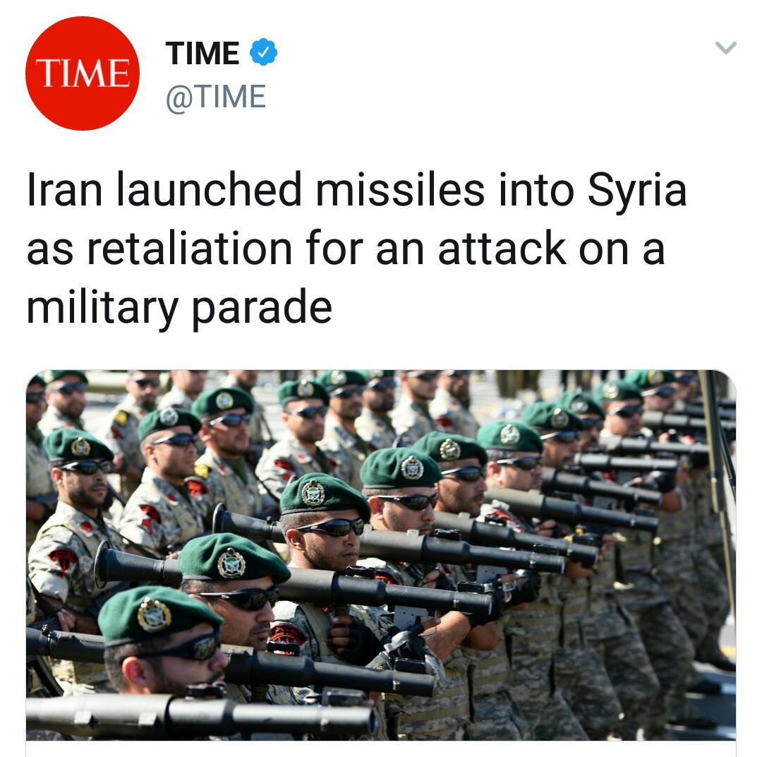 بازتاب حمله موشکی سپاه به مواضع طراحان حمله تروریستی اهواز در رسانههای خارجی - 21