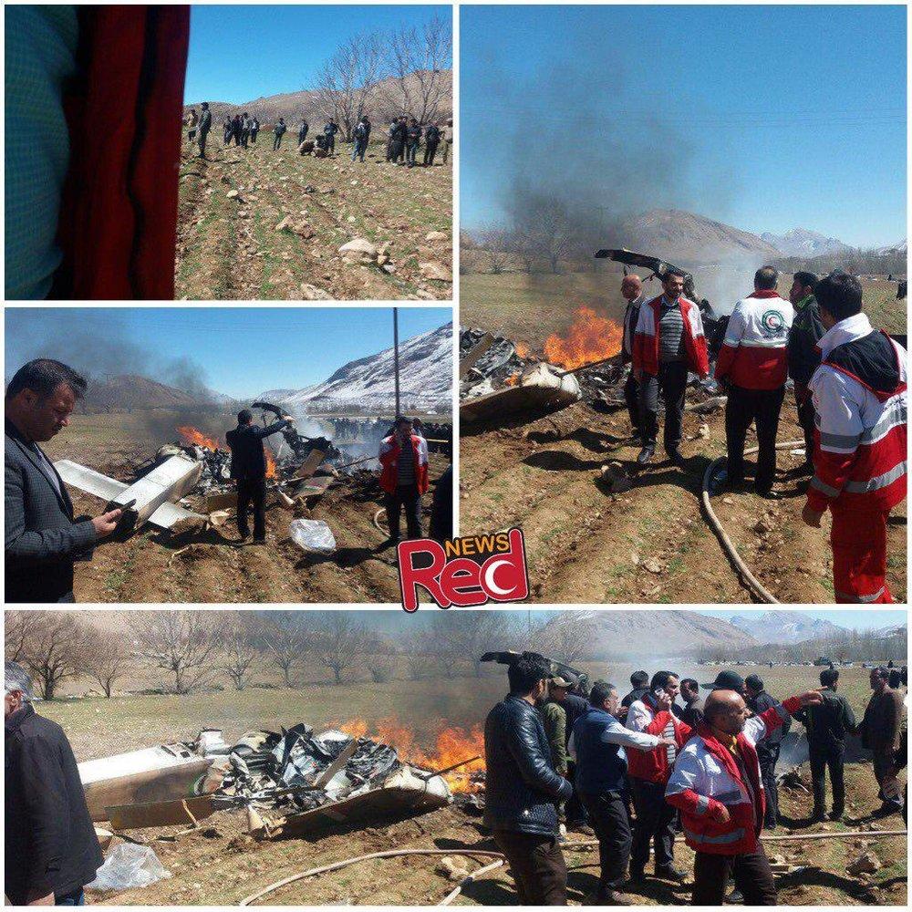 فیلم | آخرین جزئیات درباره سقوط بالگرد اورژانس در شهرکرد - 3