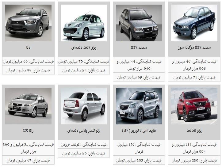 قیمت برخی از خودروهای داخلی افزایش یافت/ فهرست قیمتها - 7