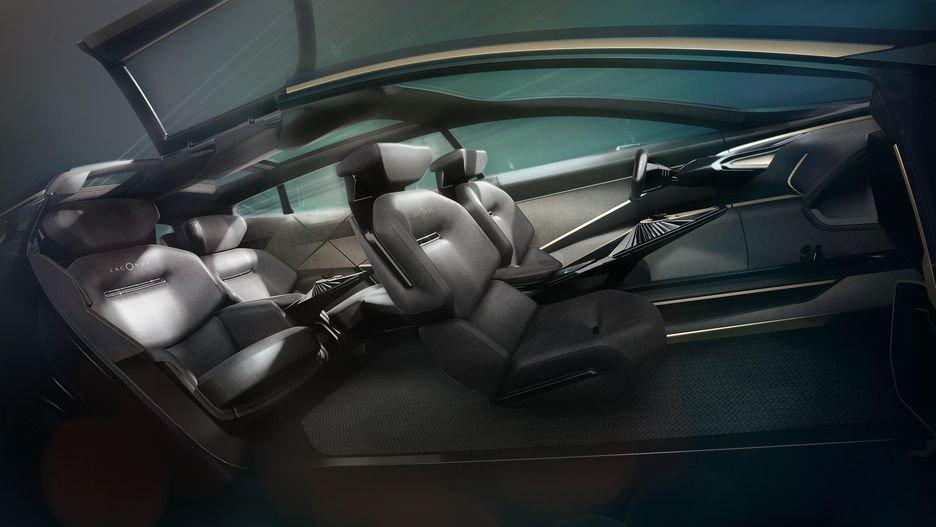 رونمایی از خودروی هایپرلاکچری استون مارتین لاگوندا در نمایشگاه ژنو - 5