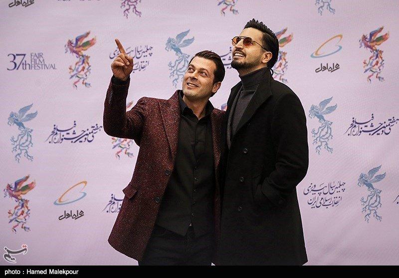 تصاویر | بازیگران سینما روی فرش قرمز جشنواره فجر - 4