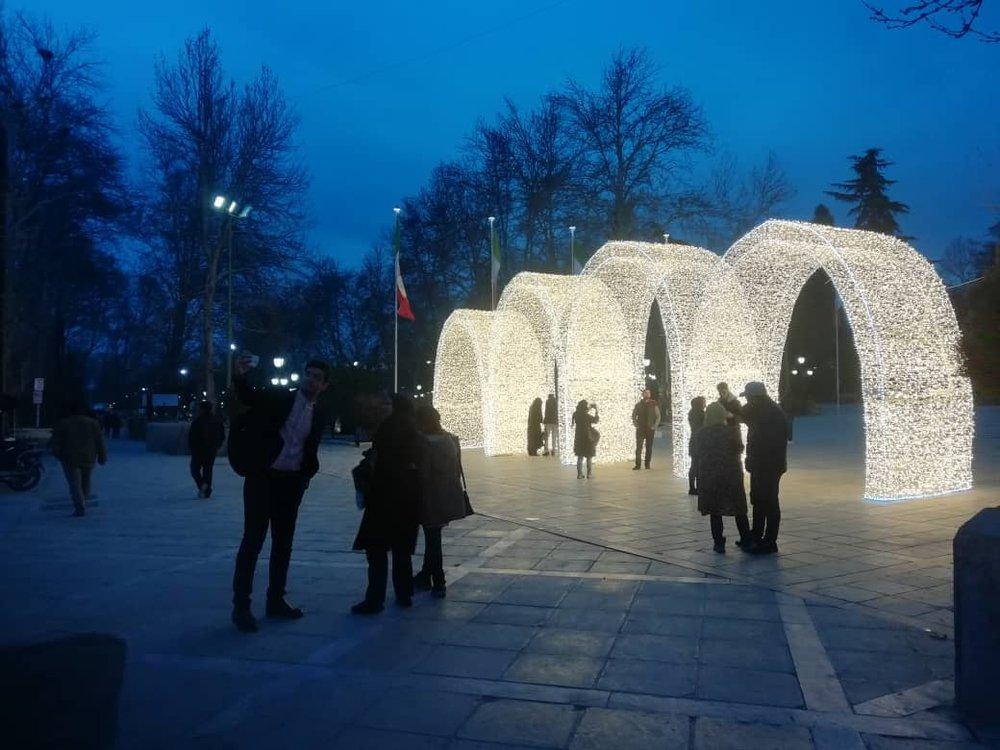 تصاویر | آغاز جشن نور تهران در پارک ملت - 4