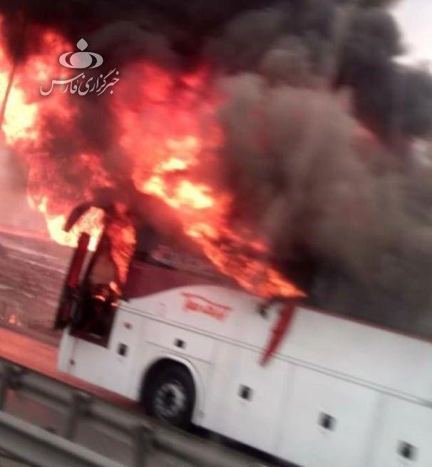 فیلم | انفجار مهیب لولههای گاز در آزادراه اهواز-ماهشهر - 3