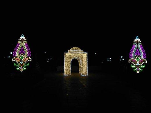 تصاویر | آغاز جشن نور تهران در پارک ملت