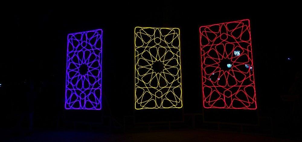 تصاویر | آغاز جشن نور تهران در پارک ملت - 8