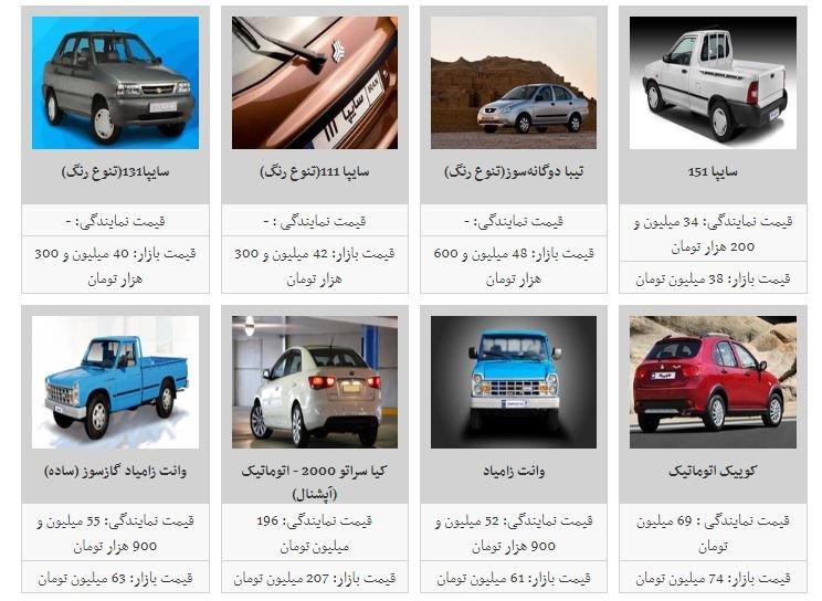 قیمت برخی از خودروهای داخلی افزایش یافت/ فهرست قیمتها - 12