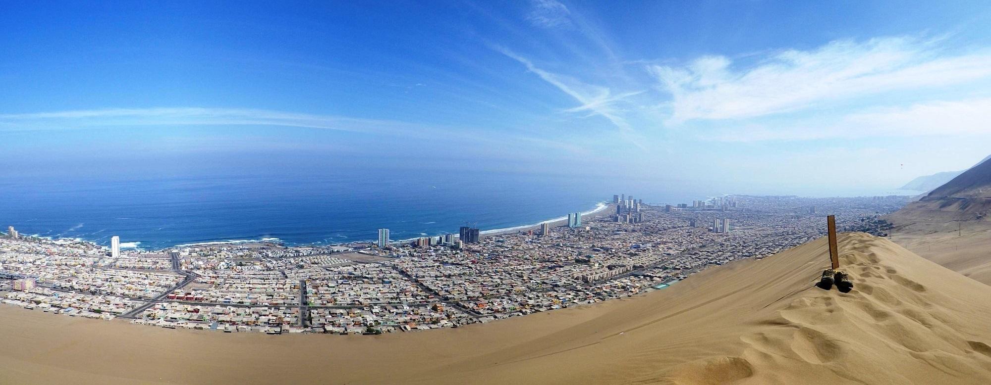 تصاویر همسایگی دریا و شنزار در نمایی دیدنی از تپه اژدها - 9