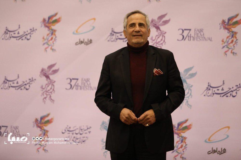 تصاویر | بازیگران سینما روی فرش قرمز جشنواره فجر - 6