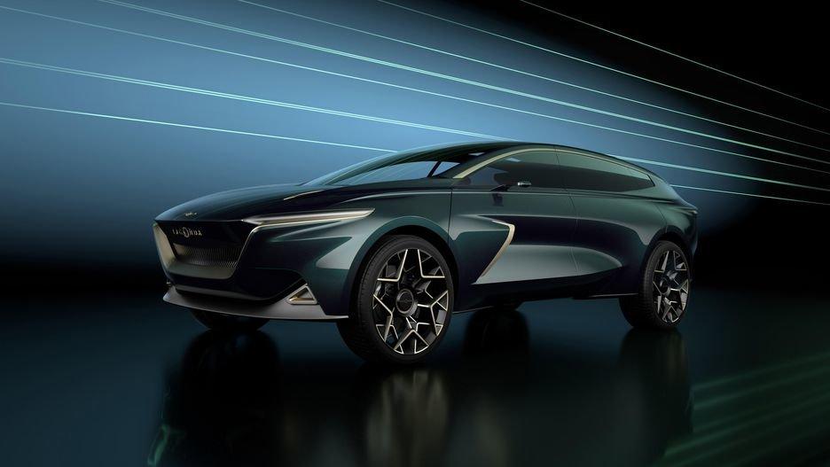 رونمایی از خودروی هایپرلاکچری استون مارتین لاگوندا در نمایشگاه ژنو - 7