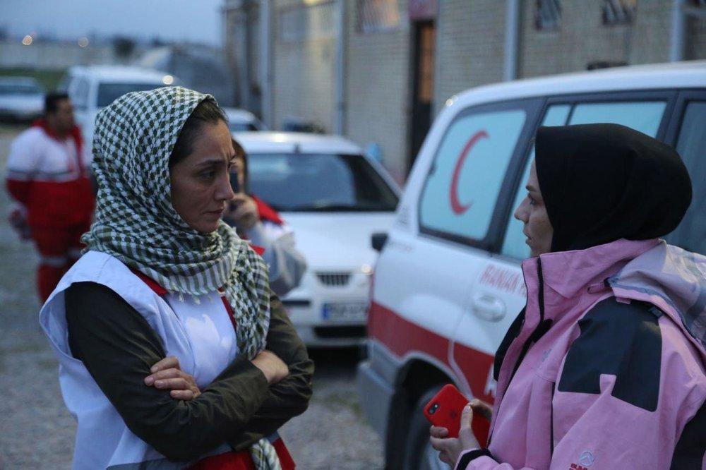 تصاویر | هدیه تهرانی در استان سیلزده گلستان - 3