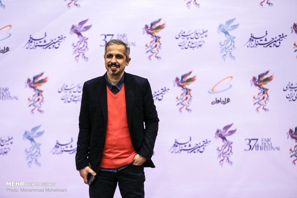 تصاویر | بازیگران سینما روی فرش قرمز جشنواره فجر - 9