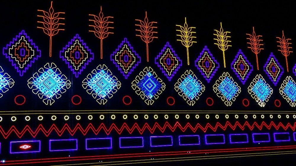 تصاویر | آغاز جشن نور تهران در پارک ملت - 6