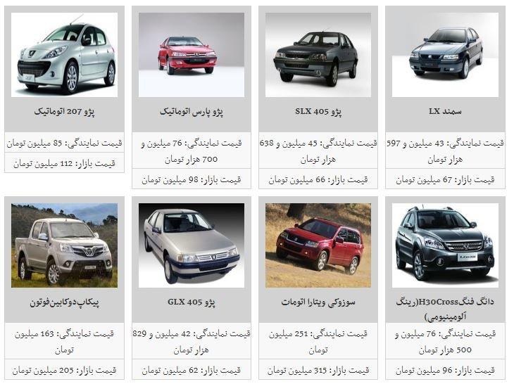 قیمت برخی از خودروهای داخلی افزایش یافت/ فهرست قیمتها - 5