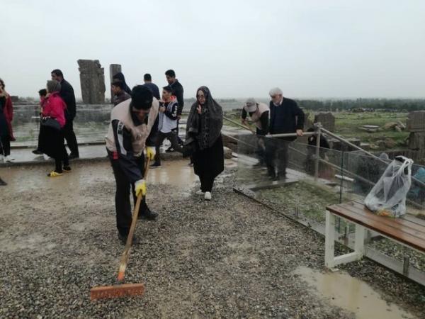 تصاویر «تخت جمشید» بعد از فروکش کردن سیلاب! - 7