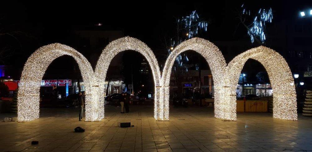 تصاویر | آغاز جشن نور تهران در پارک ملت - 5