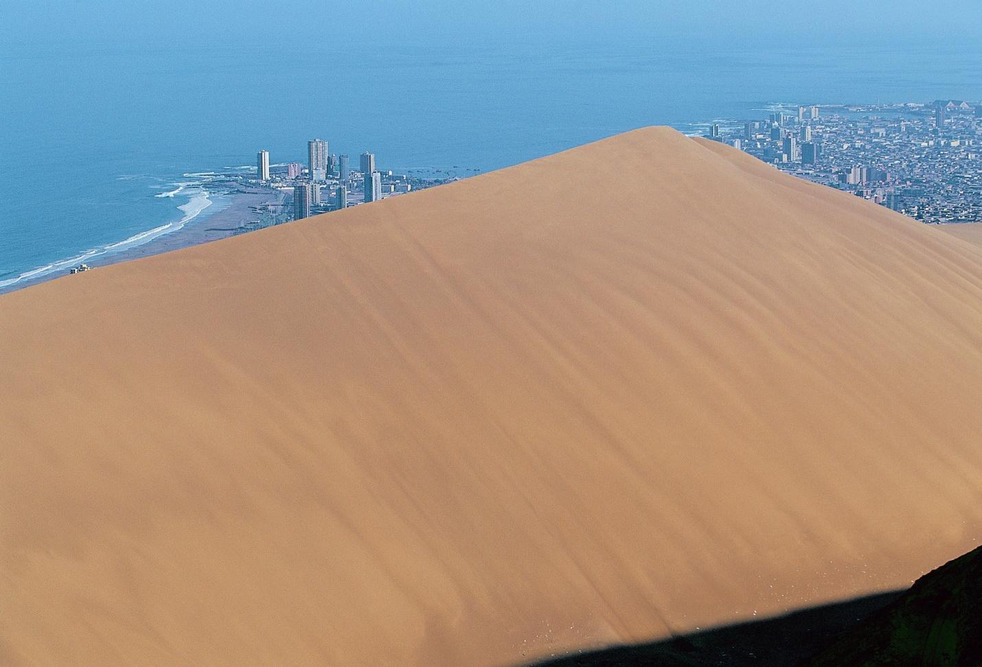 تصاویر همسایگی دریا و شنزار در نمایی دیدنی از تپه اژدها - 5