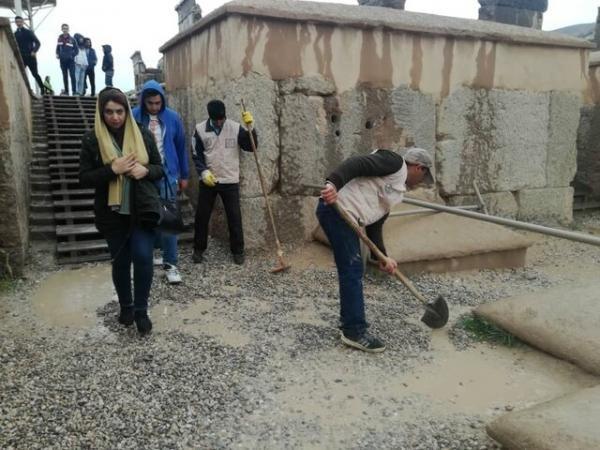 تصاویر «تخت جمشید» بعد از فروکش کردن سیلاب! - 8