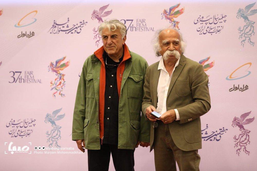تصاویر | بازیگران سینما روی فرش قرمز جشنواره فجر - 13
