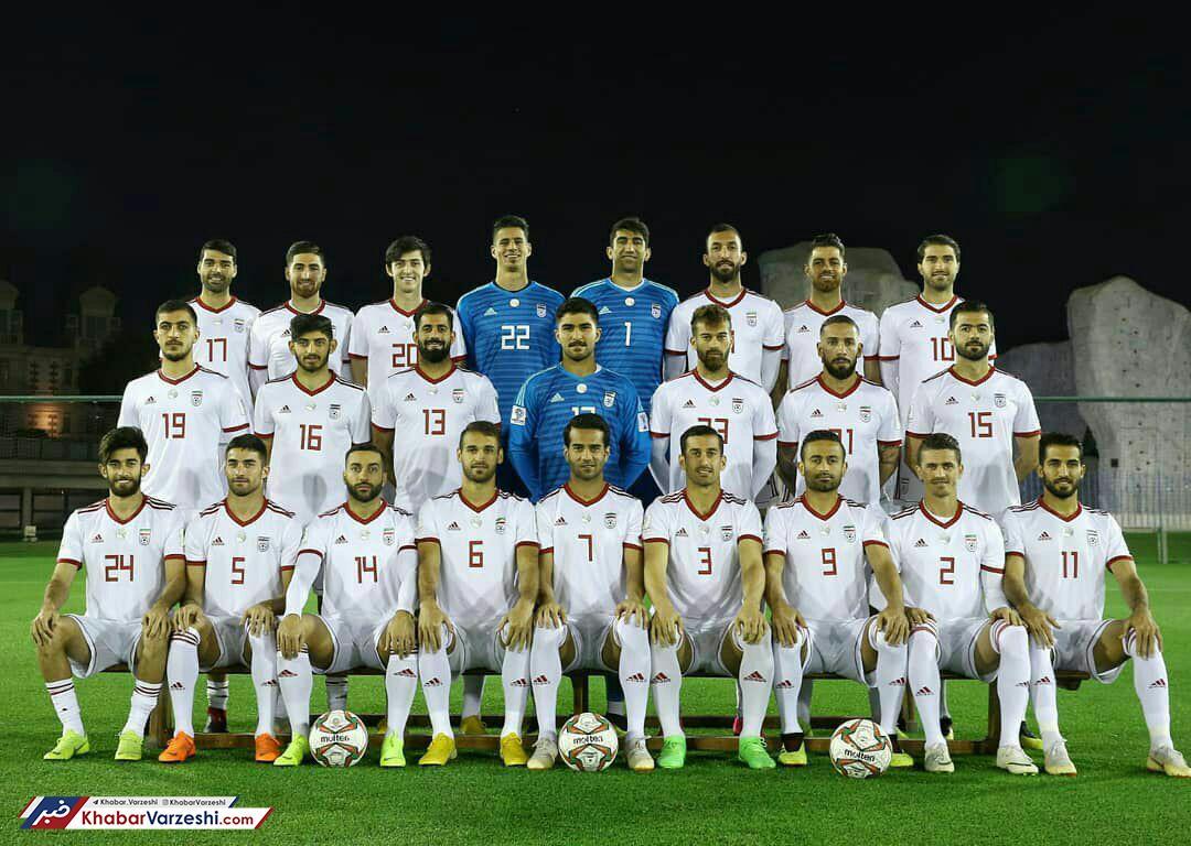 عکس  تیم ملی ایران در آستانه جام ملتها - 0