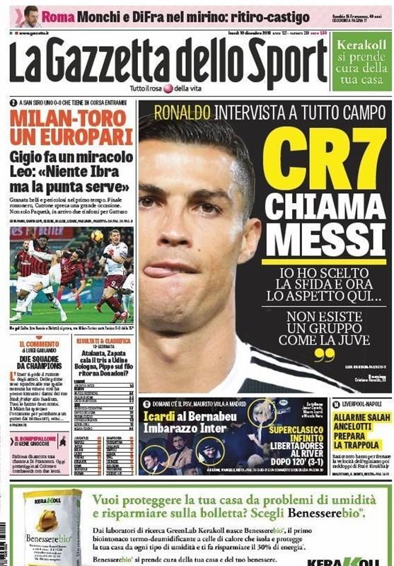 رونالدو: دوست دارم مسی به ایتالیا بیاید - 3