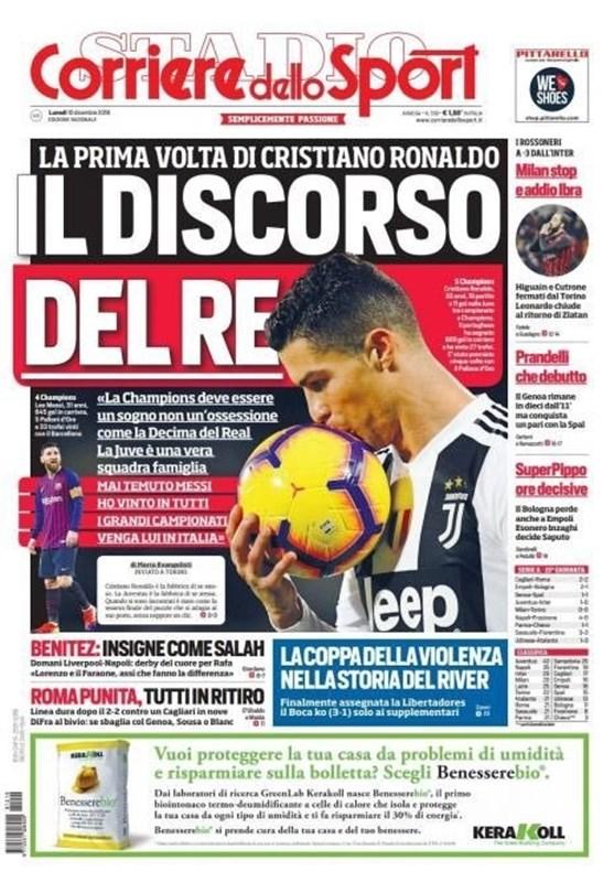رونالدو: دوست دارم مسی به ایتالیا بیاید - 5