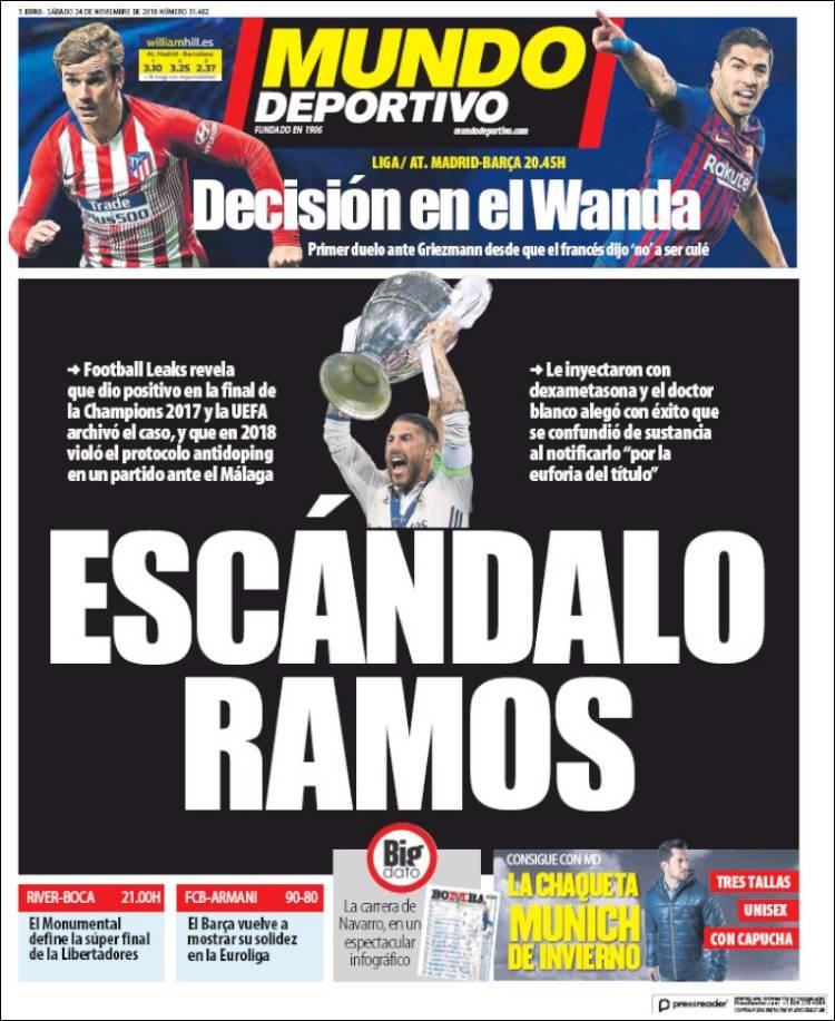 روزنامه موندو| رسوایی راموس - 1