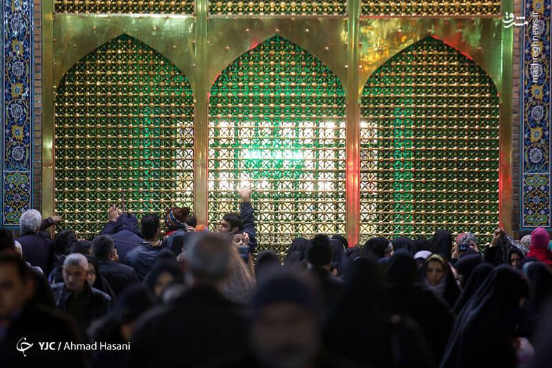 عکس/ شب شهادت حضرت زهرا (س) در حرم مطهر رضوی - 21