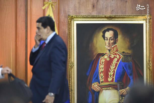 عکس/ کنفرانس خبری رئیس جمهور ونزوئلا - 15