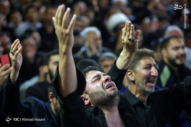 عکس/ شب شهادت حضرت زهرا (س) در حرم مطهر رضوی - 2