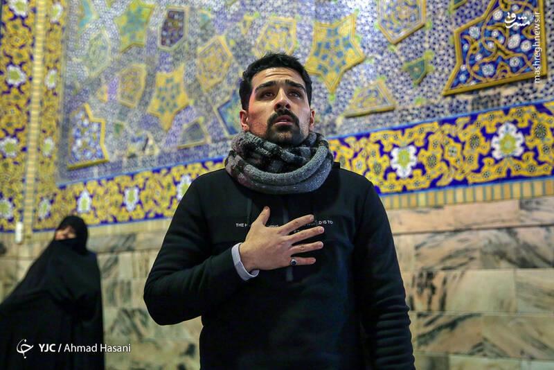 عکس/ شب شهادت حضرت زهرا (س) در حرم مطهر رضوی - 20