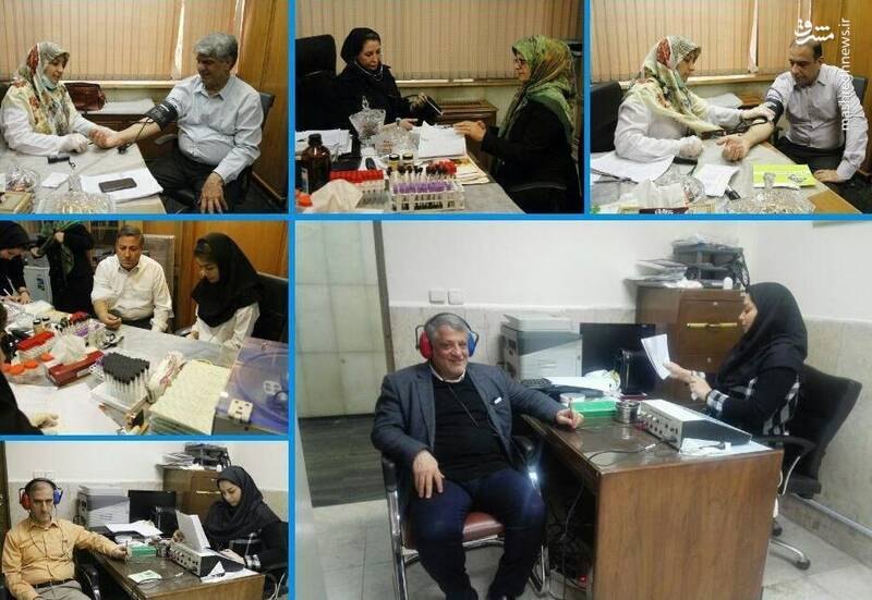 چکاپ سلامت اعضای شورای شهر تهران +عکس - 4