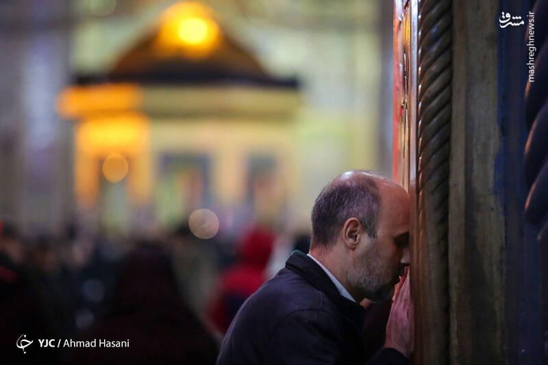 عکس/ شب شهادت حضرت زهرا (س) در حرم مطهر رضوی - 10