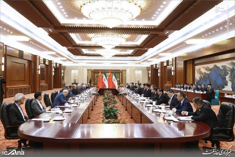 عکس/ دیدار لاریجانی با رئیس کنگره خلق چین - 6
