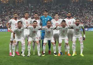 ترکیب تیم ملی ایران برای دیدار با ژاپن