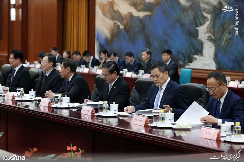 عکس/ دیدار لاریجانی با رئیس کنگره خلق چین - 3