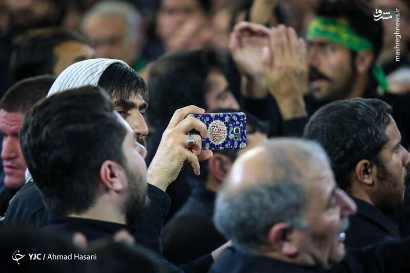 عکس/ شب شهادت حضرت زهرا (س) در حرم مطهر رضوی - 5