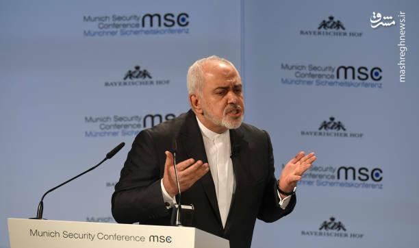 عکس/ سخنرانی ظریف در کنفرانس امنیتی مونیخ - 4