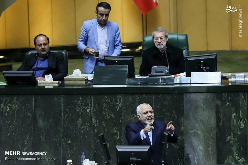 عکس/ حضور ظریف در صحن علنی مجلس - 9