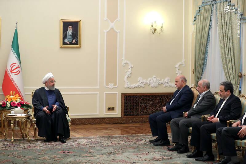 عکس/ دیدار نوروزی جمعی از وزرا با روحانی - 11