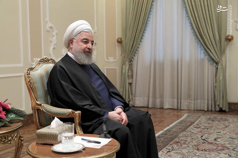 عکس/ دیدار نوروزی جمعی از وزرا با روحانی - 2