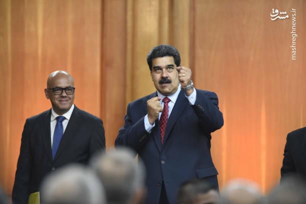 عکس/ کنفرانس خبری رئیس جمهور ونزوئلا - 14