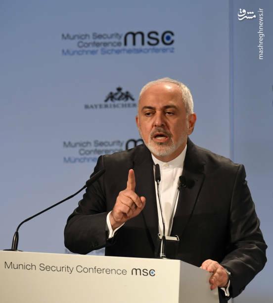 عکس/ سخنرانی ظریف در کنفرانس امنیتی مونیخ - 9