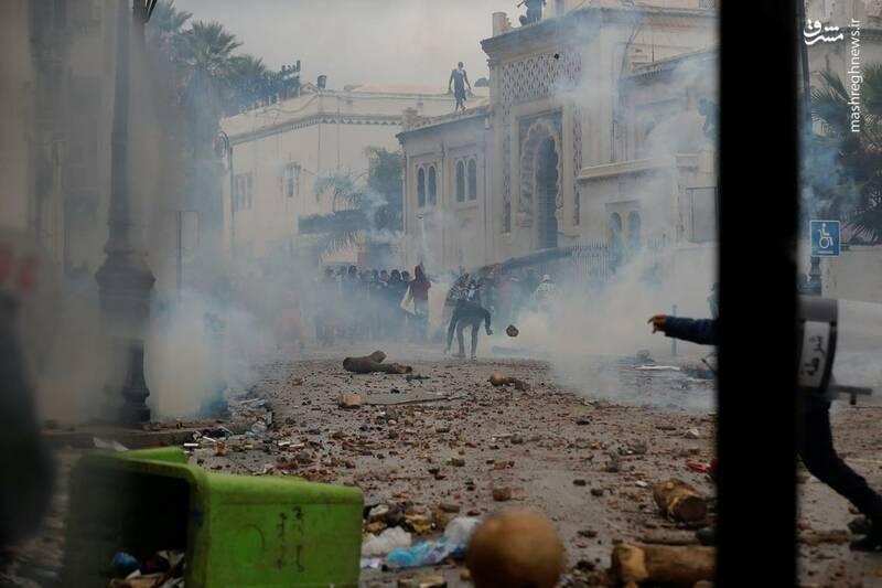 عکس/ ادامه ناآرامیها در خیابانهای الجزایر - 5