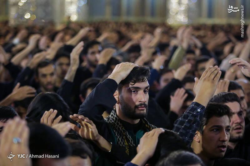 عکس/ شب شهادت حضرت زهرا (س) در حرم مطهر رضوی - 3