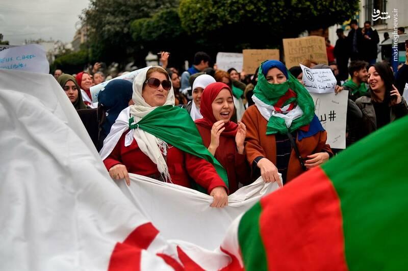 عکس/ ادامه ناآرامیها در خیابانهای الجزایر - 6