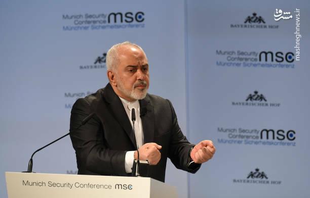 عکس/ سخنرانی ظریف در کنفرانس امنیتی مونیخ - 3